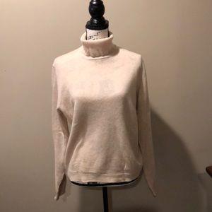 Croft & barrow 100% cashmere turtleneck sweater